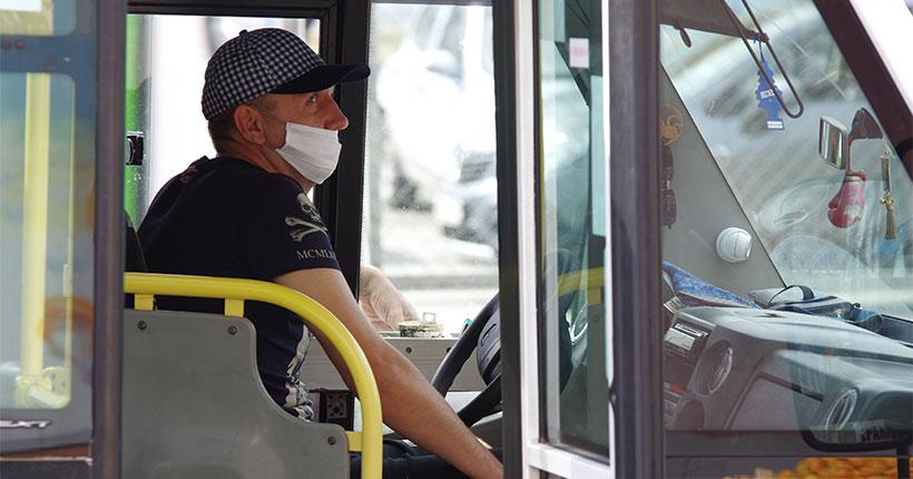 В общественном транспорте Новосибирска пройдут проверки соблюдения масочного режима